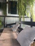 Sala de estar al aire libre Foto de archivo