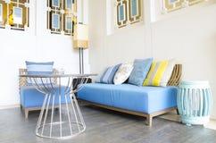 Sala de estar al aire libre moderna Imagen de archivo