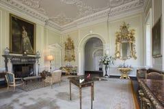 Sala de estar - casa señorial - Yorkshire - Inglaterra Imagen de archivo