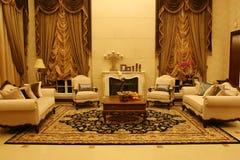 Sala de estar clásica foto de archivo