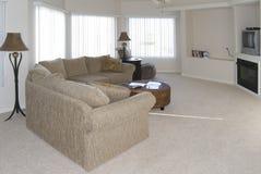 Sala de estar con estilo Imágenes de archivo libres de regalías