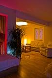 Sala de estar con estilo Imagen de archivo libre de regalías