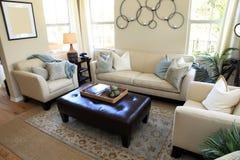 Sala de estar contemporánea Imagen de archivo