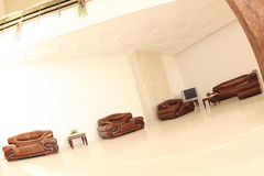 Sala de estar Cosy imagens de stock