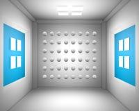 sala de estar 3d del dibujo Fotografía de archivo