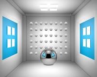 sala de estar 3d del dibujo Fotos de archivo