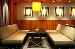 Sala de estar da barra Imagem de Stock