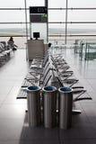 Sala de estar da partida de um aeroporto Imagem de Stock