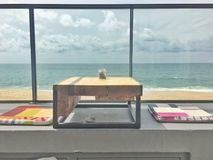Sala de estar da praia Imagens de Stock Royalty Free