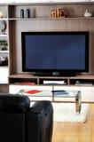 Sala de estar da tevê imagens de stock royalty free