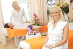 Sala de estar de beleza Fotografia de Stock Royalty Free