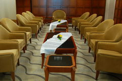 Sala de estar de espera Fotos de Stock Royalty Free