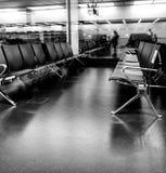 Sala de estar de espera do aeroporto Imagens de Stock Royalty Free