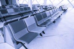 Sala de estar de espera do terminal de aeroporto Fotos de Stock