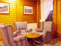 Sala de estar de interior Imagen de archivo libre de regalías