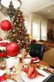 Sala de estar de la Navidad Fotografía de archivo