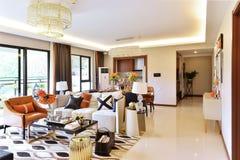 Sala de estar de la sala de estar imagen de archivo libre de regalías