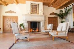Sala de estar de lujo Foto de archivo