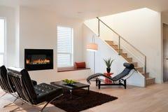 Sala de estar de lujo moderna Fotografía de archivo