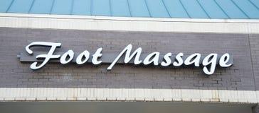 Sala de estar de massagem do pé foto de stock royalty free