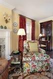 Sala de estar del detalle imagen de archivo libre de regalías