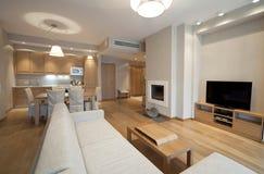 Sala de estar del diseñador Imagen de archivo