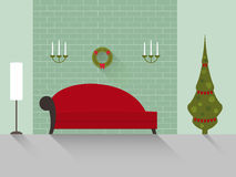 Sala de estar 8 del diseño Foto de archivo libre de regalías