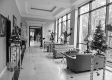 sala de estar del Occidental-estilo en el hotel de lujo Fotografía de archivo libre de regalías