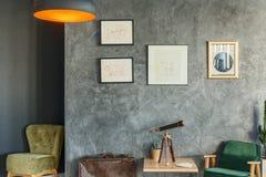Sala de estar del ` s del viajero Imagenes de archivo