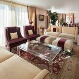 Sala de estar, diseño clásico Fotografía de archivo