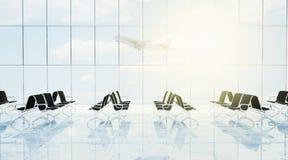 Sala de estar do aeroporto Imagem de Stock