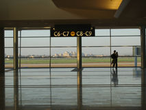 Sala de estar do aeroporto Imagem de Stock Royalty Free