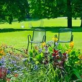Sala de estar do Chaise para a recreação Imagem de Stock Royalty Free