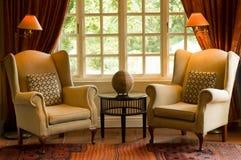 Sala de estar do hotel do país Fotografia de Stock