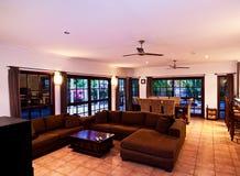 Sala de estar e área de jantar Imagens de Stock