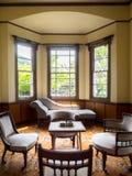 Sala de estar en residencia anterior Fotografía de archivo libre de regalías