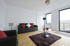 Sala de estar equipada Fotos de Stock Royalty Free