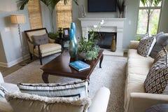 Sala de estar espaciosa Imagen de archivo