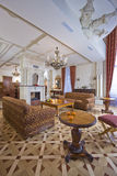 Sala de estar esplêndida Imagem de Stock Royalty Free