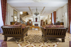 Sala de estar esplêndida Imagens de Stock Royalty Free