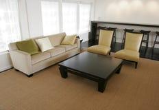 Sala de estar executiva foto de stock