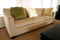 Sala de estar executiva fotografia de stock royalty free