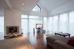 Sala de estar fornecida beleza Fotos de Stock Royalty Free
