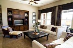Sala de estar grande hermosa Fotografía de archivo libre de regalías