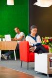 Sala de estar incorporada Imagem de Stock