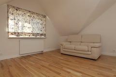 Sala de estar inglesa Foto de archivo libre de regalías