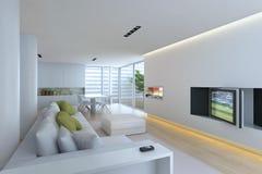 Sala de estar interior Imagenes de archivo
