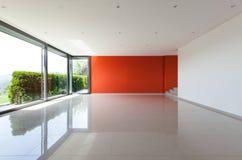 Sala de estar interior, ancha Imagenes de archivo