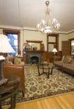 Sala de estar interior histórica Imagen de archivo libre de regalías