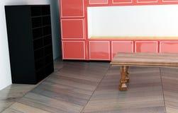sala de estar de la representación 3D stock de ilustración